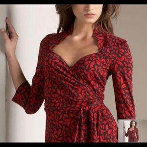 Diane von Furstenberg Gildred wrap dress